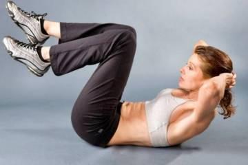 Простые упражнения для тех, кто хочет убрать живот